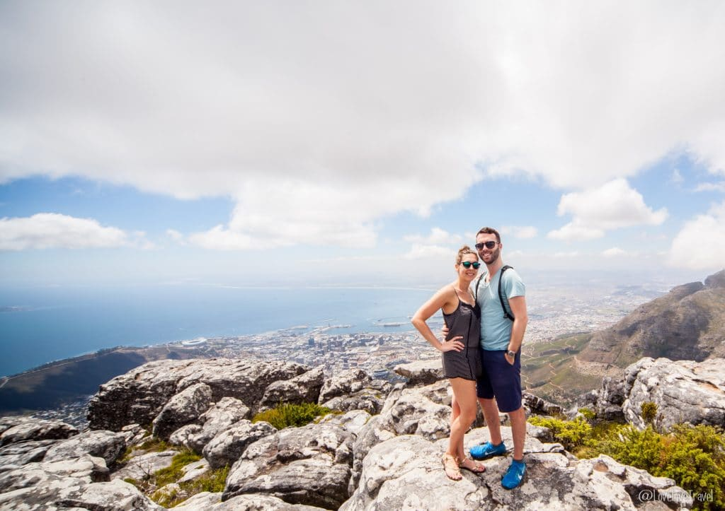 Table mountain Cape Town Afrique du sud blog voyage LoveLiveTravel