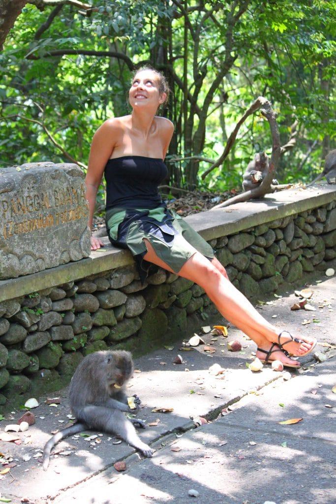 Forêt singes Bali 3