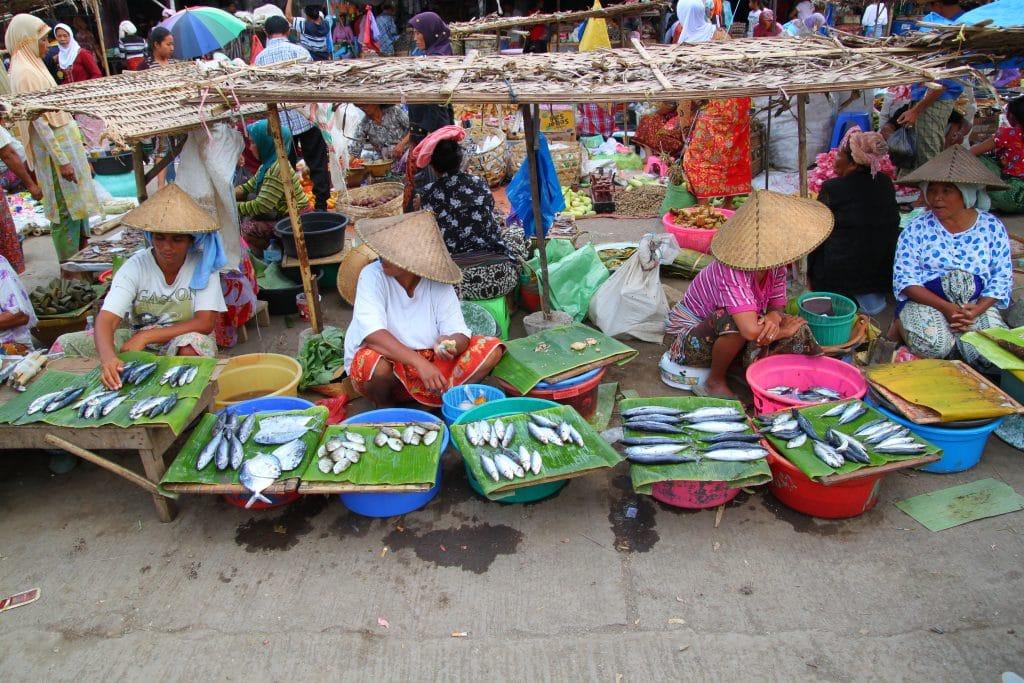 Marché Lombok 1