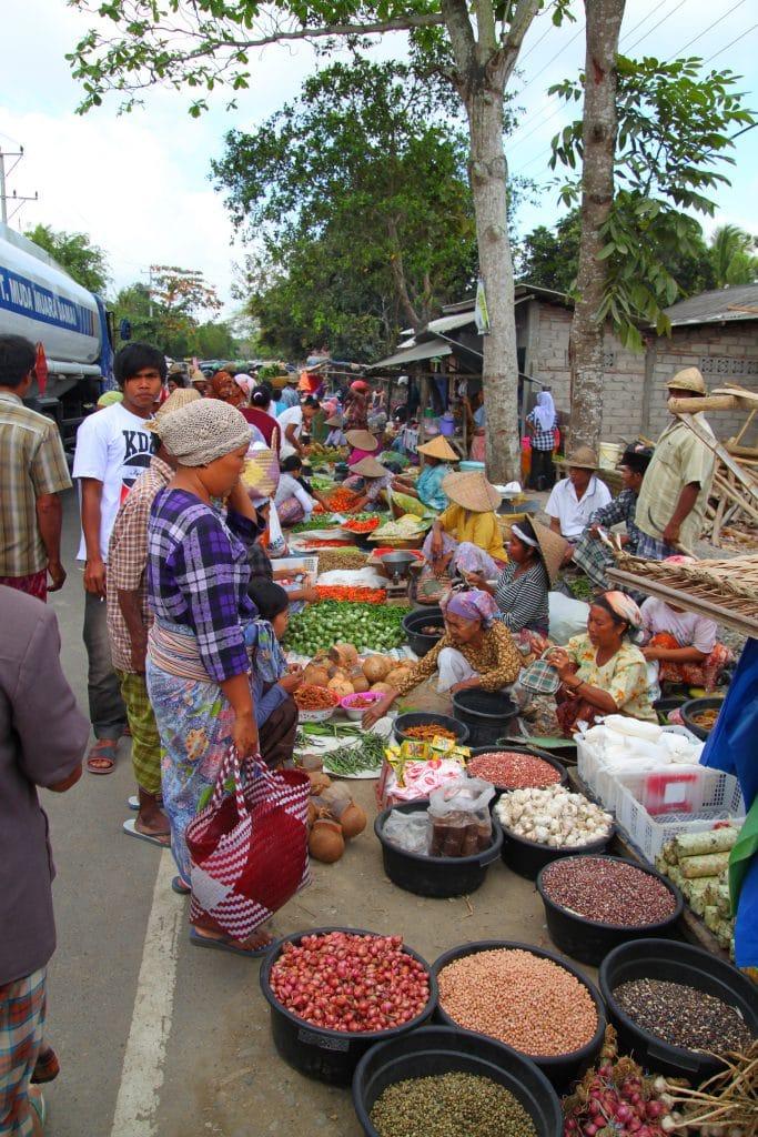 Marché Lombok
