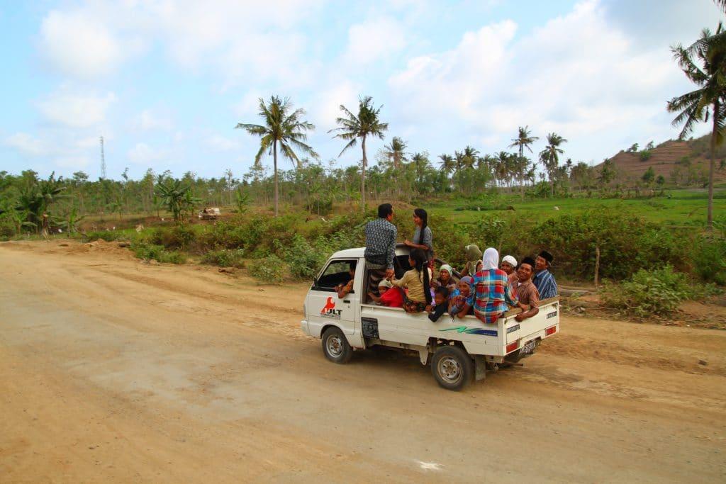 Routes Lombok