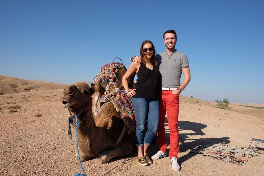 Désert d'Agafay Marrakech blog voyage LoveLiveTravel