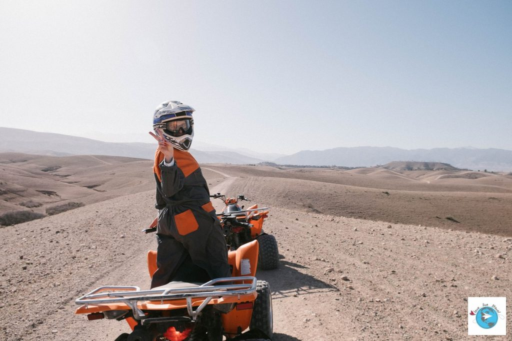 Quad désert Agafay