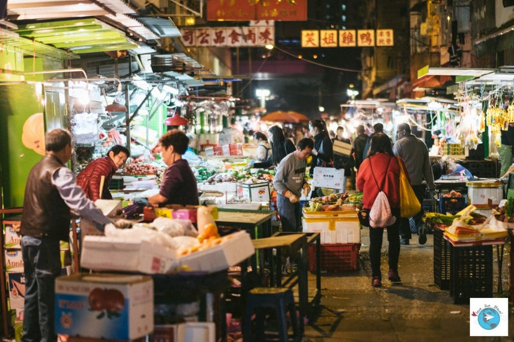 marché de temple street Hong-Kong blog voyage LoveLiveTravel