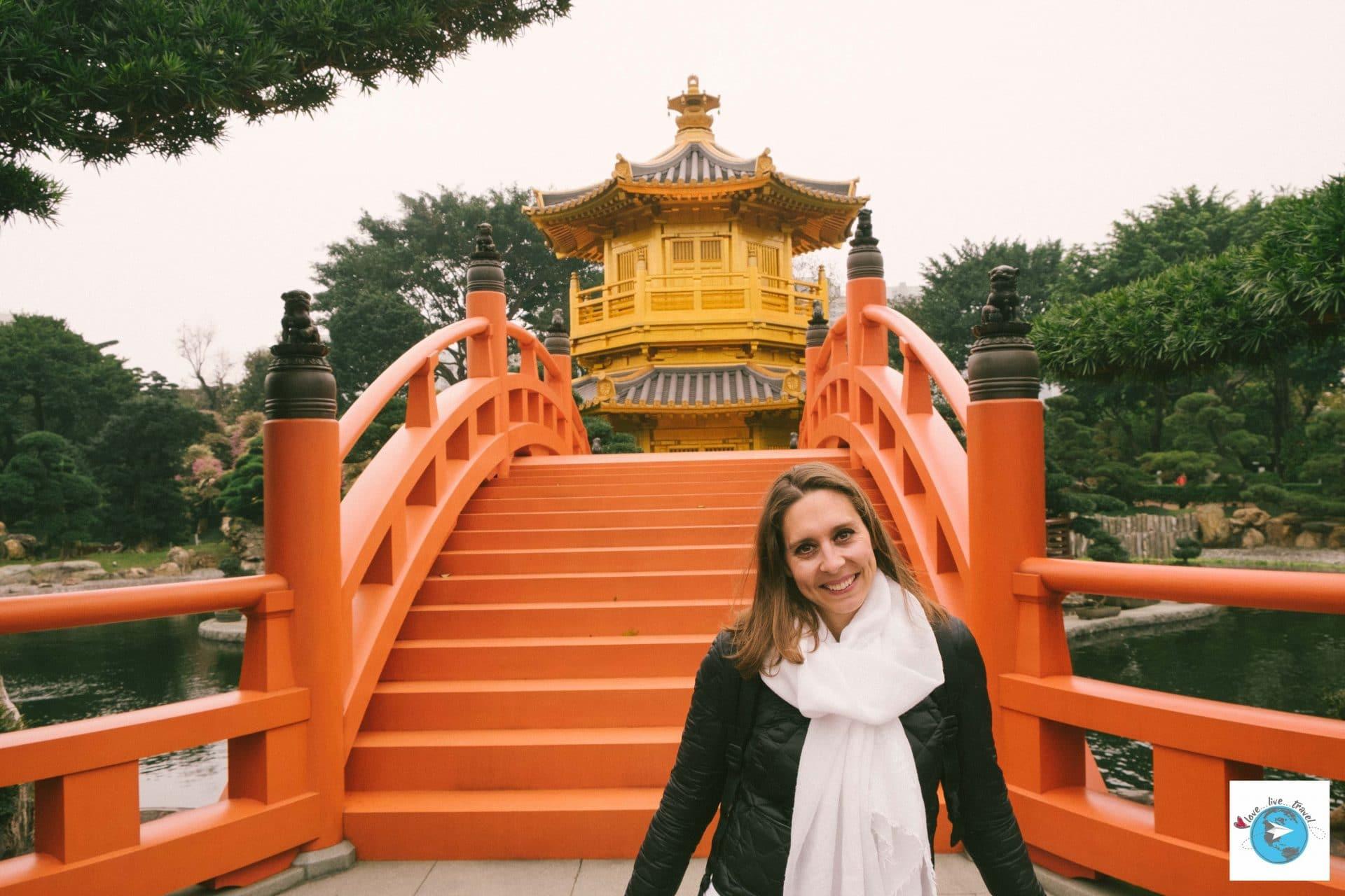 Jardin de Nan-Lian et couvent de Chi Lin