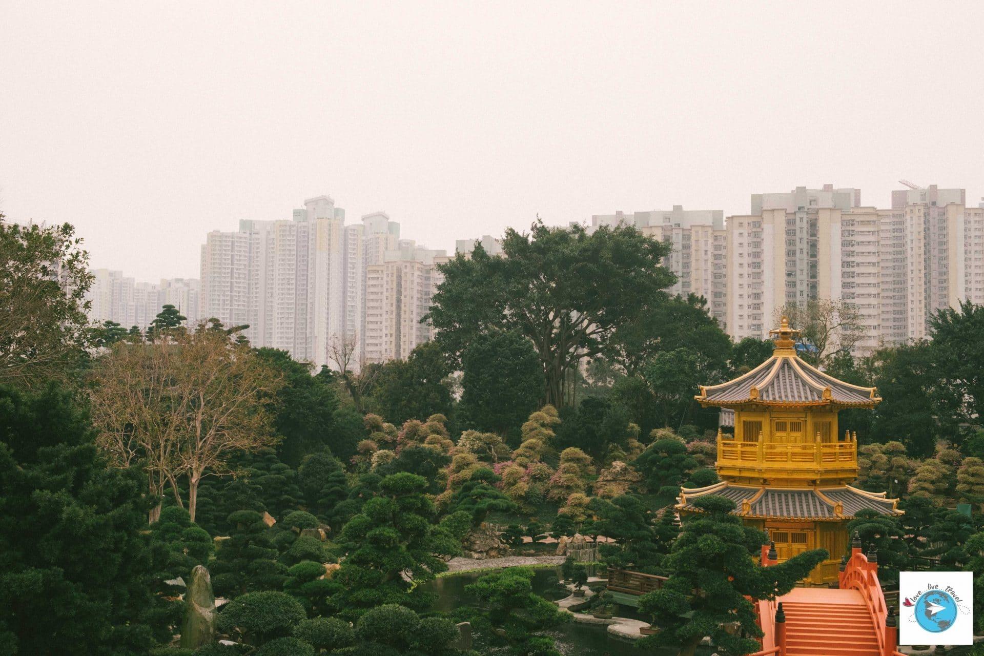 jardin de nan lian et couvent de chi lin