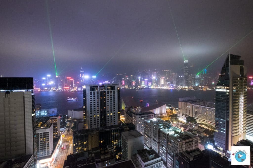 baie show laser Hong-Kong blog voyage LoveLiveTravel