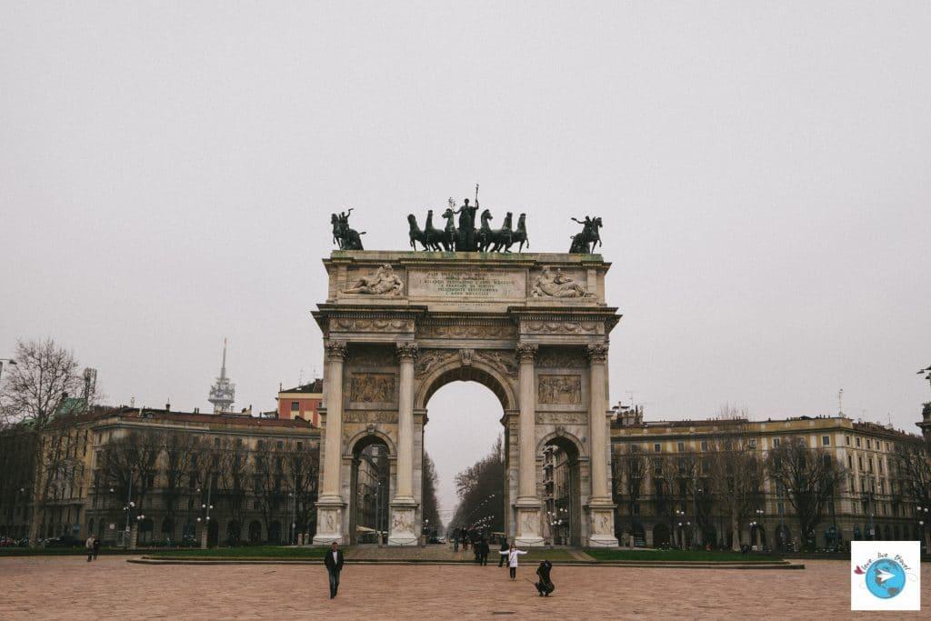 Arche Jardin Sempione Milan Blog voyage LoveLiveTravel