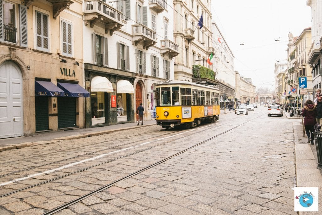Tramway Milan Blog voyage LoveLiveTravel