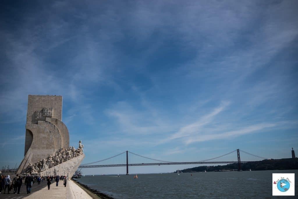 Portugal Lisbonne Padrão dos Descobrimentos Pont 25 avril Blog voyage Love Live Travel