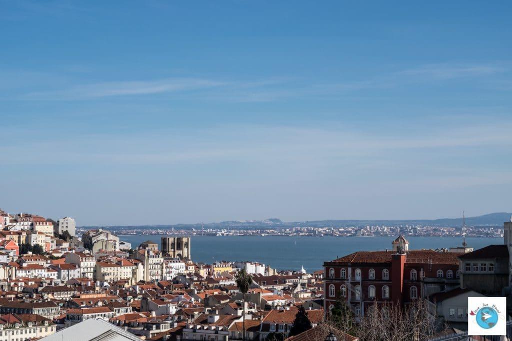 Portugal Lisbonne Miradouro São Pedro de Alcântara Blog voyage Love Live Travel