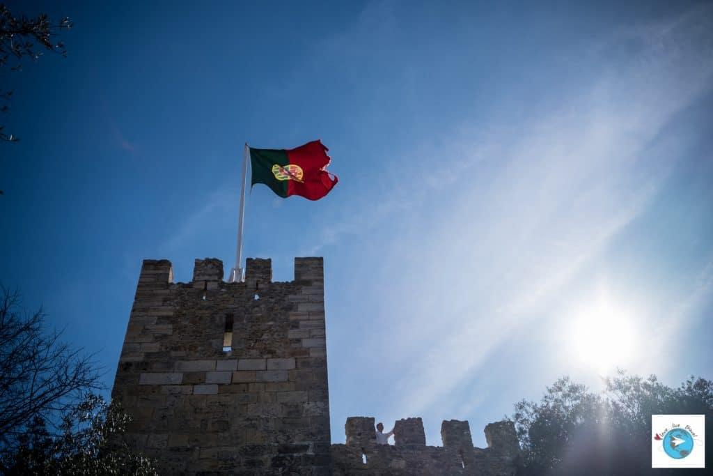 Portugal Lisbonne Chateau de Sao Jorge Blog voyage Love Live Travel