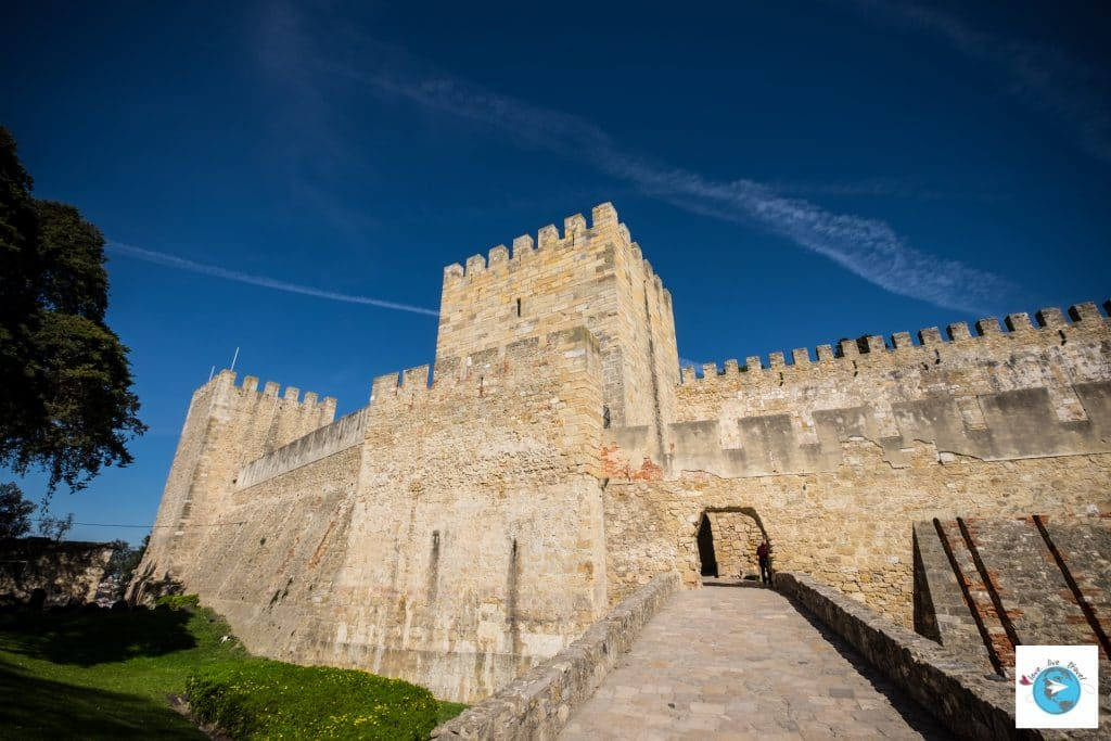 Portugal Lisbonne Chateau de Sao Jorge Blog voyage Love Live Travel