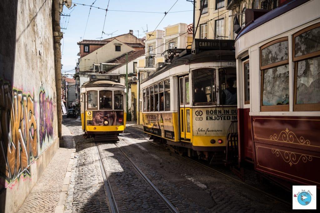 Portugal Lisbonne tramway Blog voyage Love Live Travel