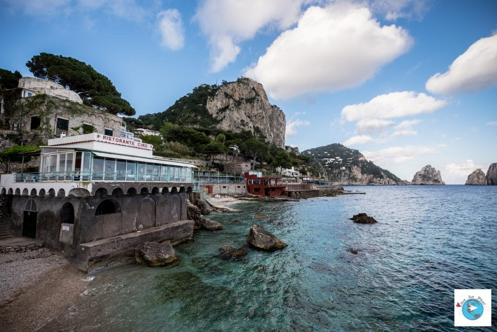 Capri marina piccola Italie blog voyage Love Live Travel