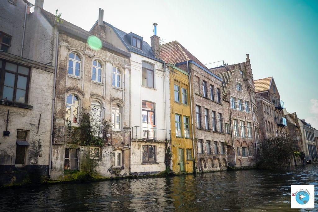 Canaux Gand belgique Flandres Love Live Travel Blog Voyage