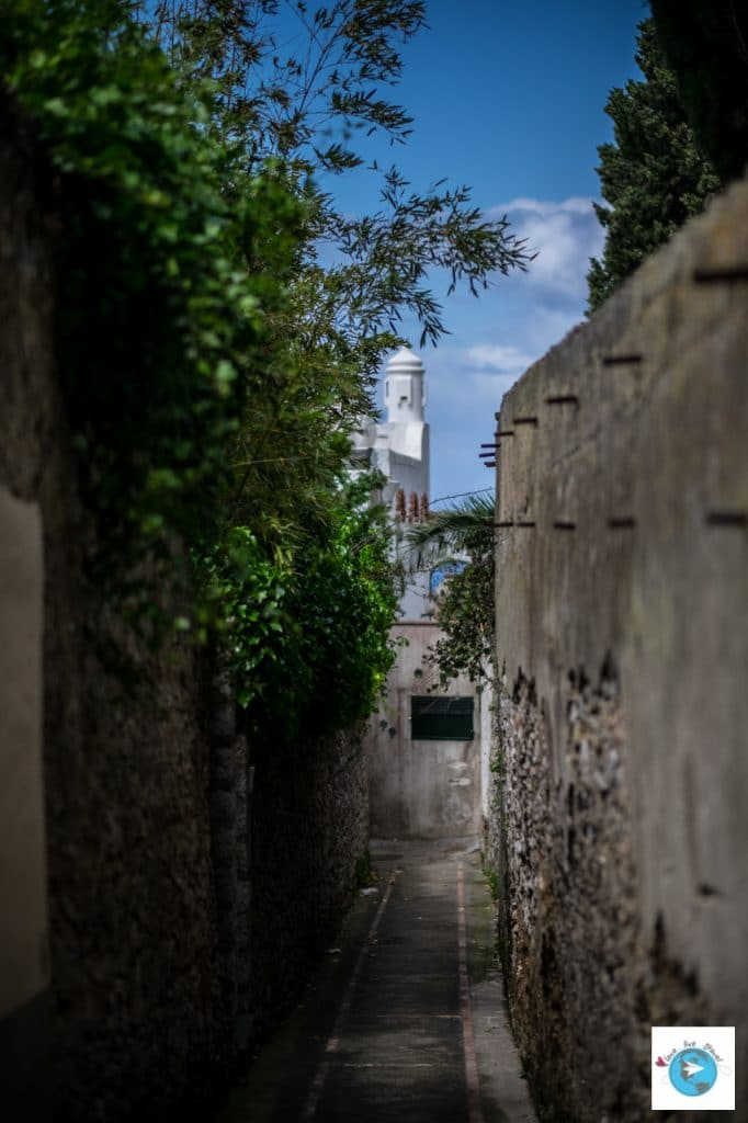rue anacapri capri italie blog voyage Love Live Travel