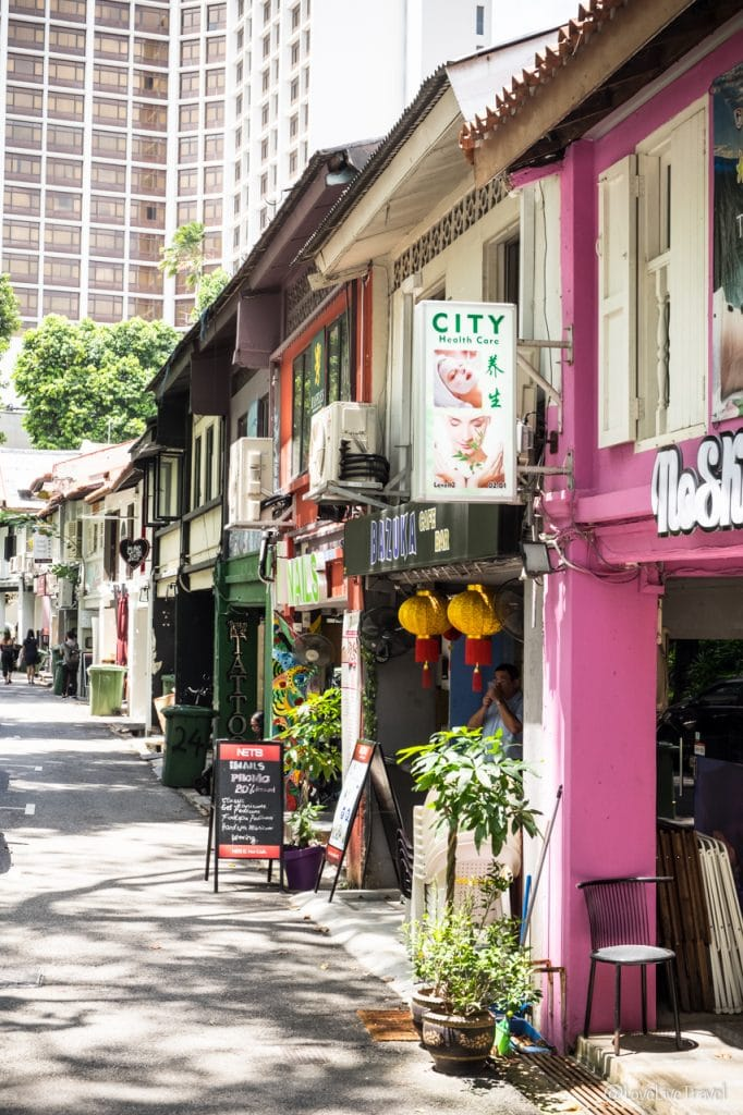 Singapour Haji lane Arab street blog voyage lovelivetravel