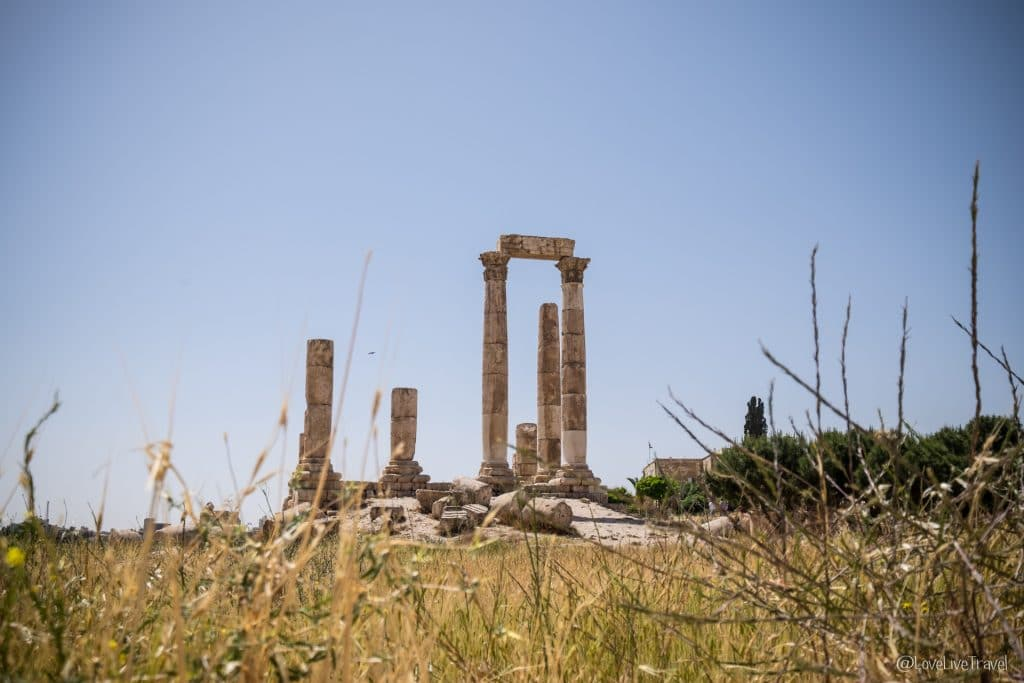 Jordanie roadtrip Amman citadelle blog voyage Lovelivetravel