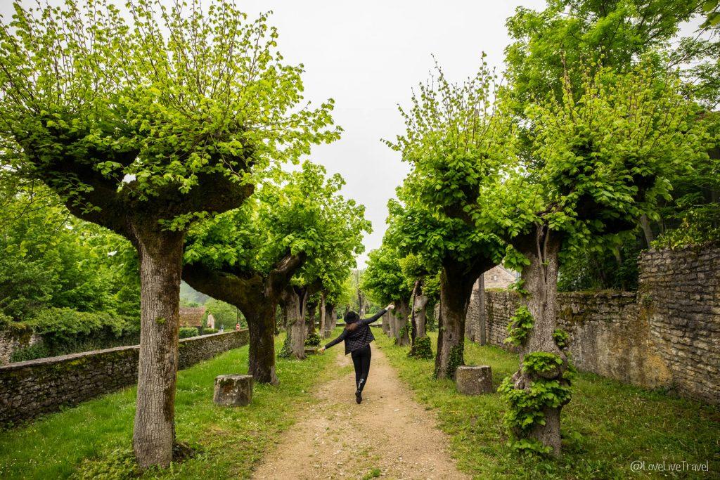 Flavigny-sur-Ozerain côte-d'or blog voyage Lovelivetravel