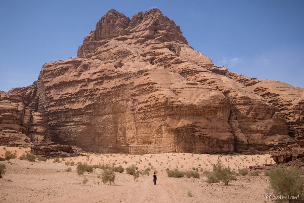 Wadi rum Roadtrip Jordanie blog voyage Love Live Travel