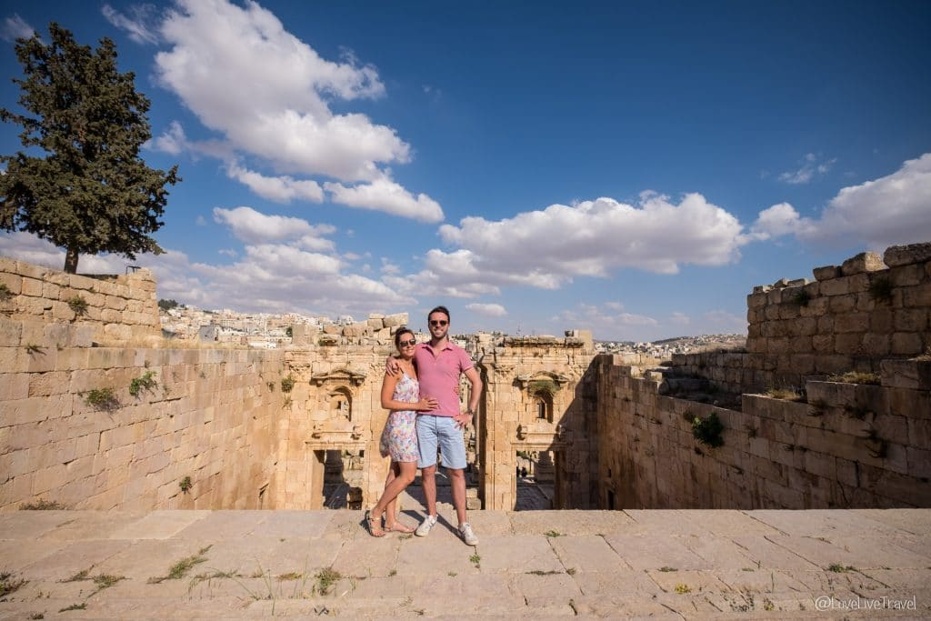 Jérash Jordanie roadtrip blog voyage lovelivetravel