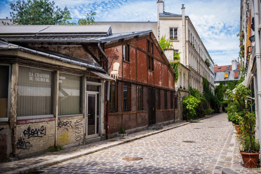 Paris passage lhomme insolites secrètes cité figuier blog voyage LoveLiveTravel