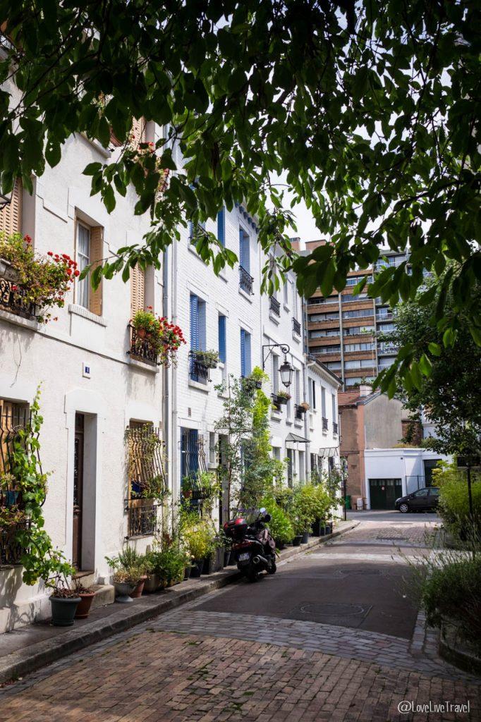 Paris cité florale rues insolites secrètes cité figuier blog voyage LoveLiveTravel