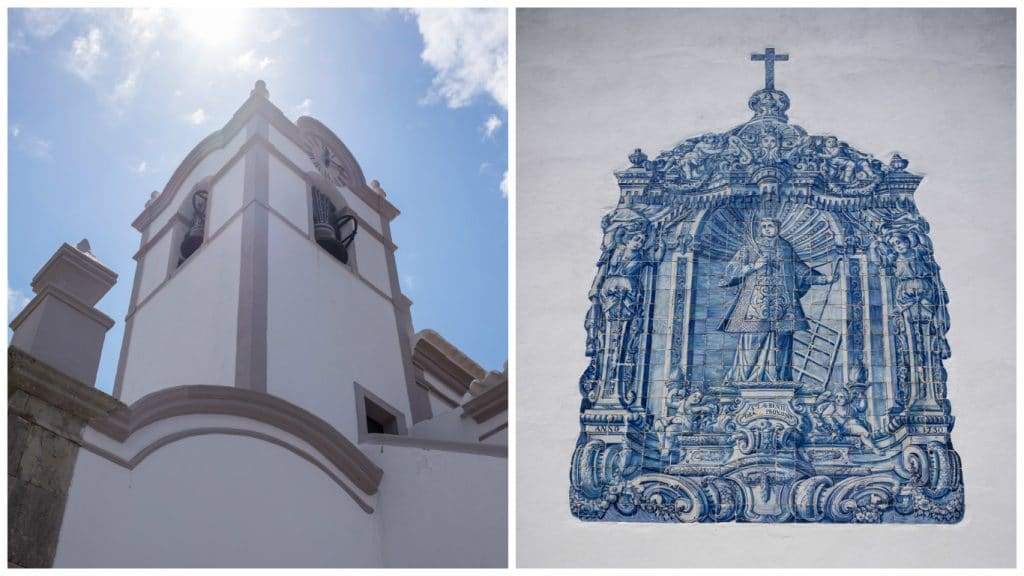 Igreja de São Lourenço Faro Algarve Portugal road trip blog voyage LoveLiveTravel