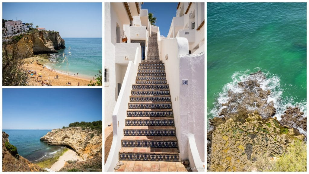 Carvoeiro Algarve Portugal road trip blog voyage LoveLiveTravel