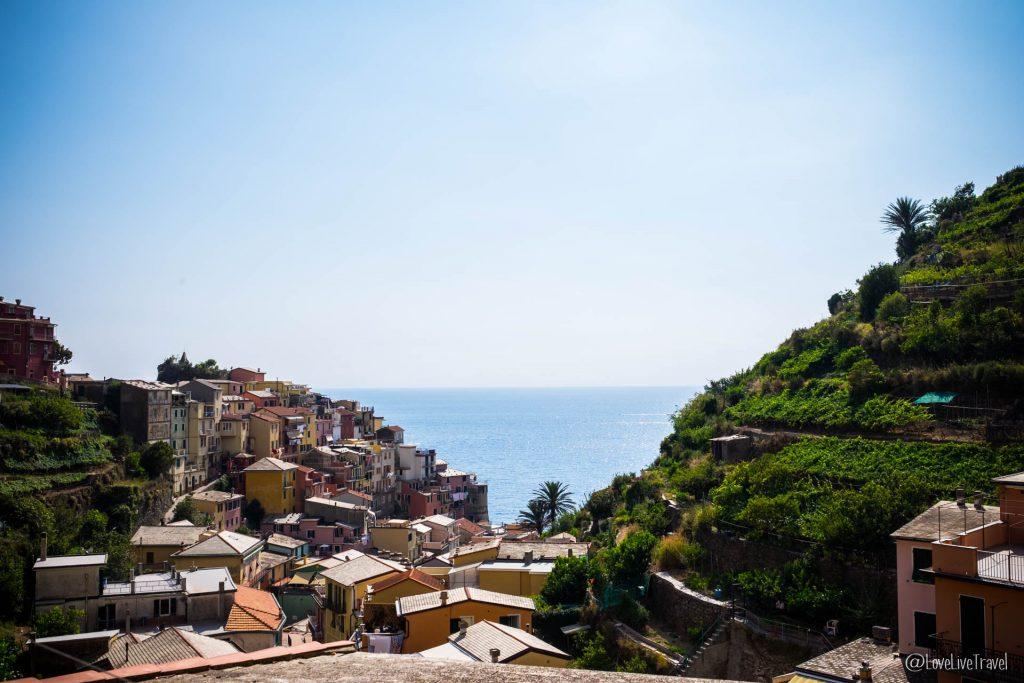 Manarola Cinque terre gira cinq terres Italie blog voyage LoveLiveT