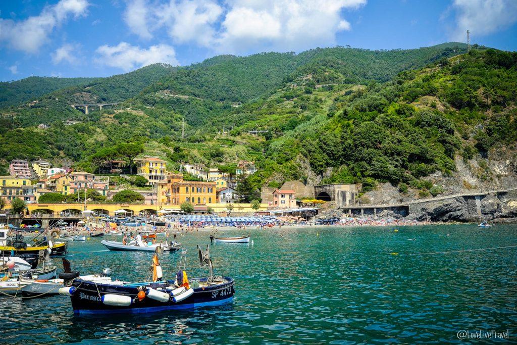 Monteresso Cinque terre gira cinq terres Italie blog voyage LoveLiveT