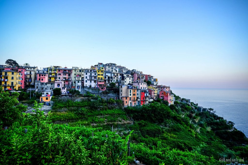 Corniglia Cinque terre gira cinq terres Italie blog voyage LoveLiveT