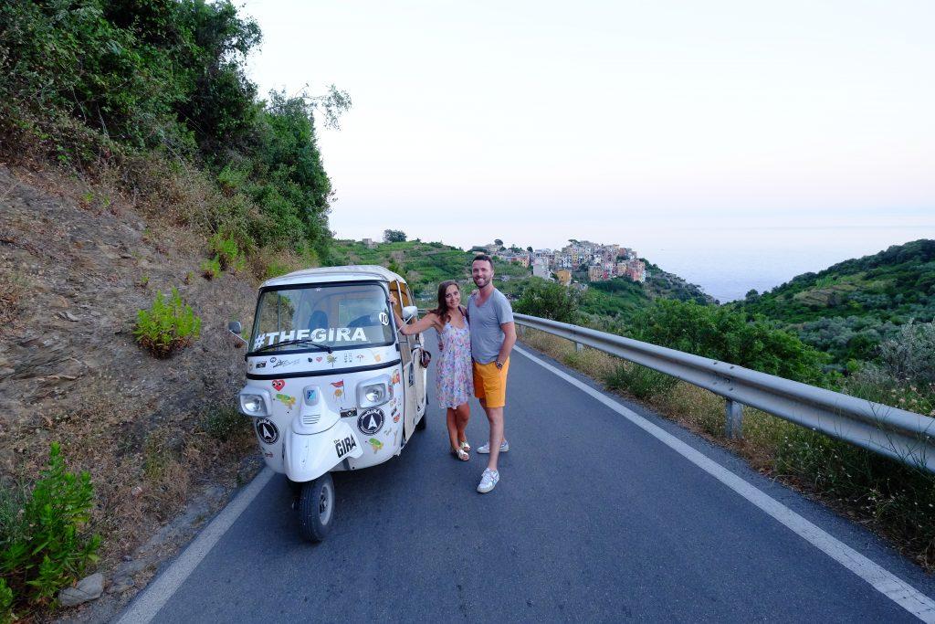 Les Cinque Terre... notre top 5 ,en Tuk-Tuk et vue du ciel italie blog voyage et lifestyle lovelivetravel