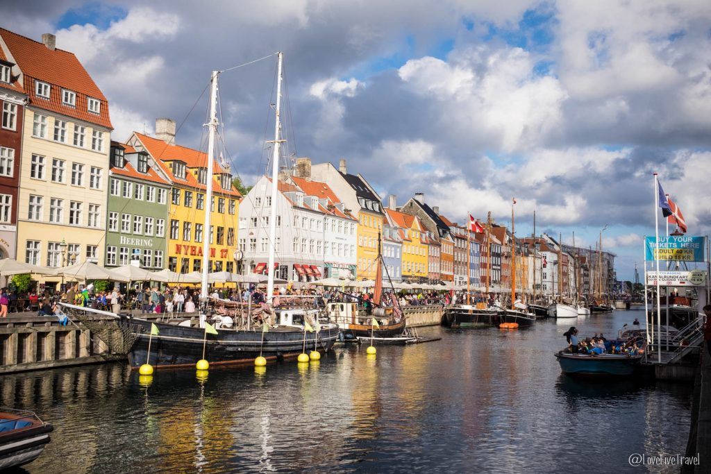 canal Nyhavn Copenhague Danemark blog voyage lovelivetravel