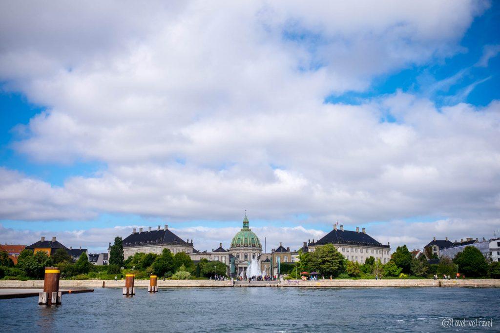 Amalienborg relève garde Copenhague Danemark blog voyage lovelivetravel