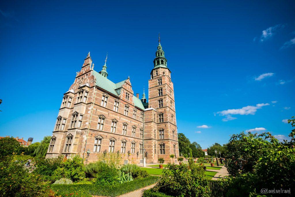 Château de Rosenborg Copenhague Danemark blog voyage lovelivetravel