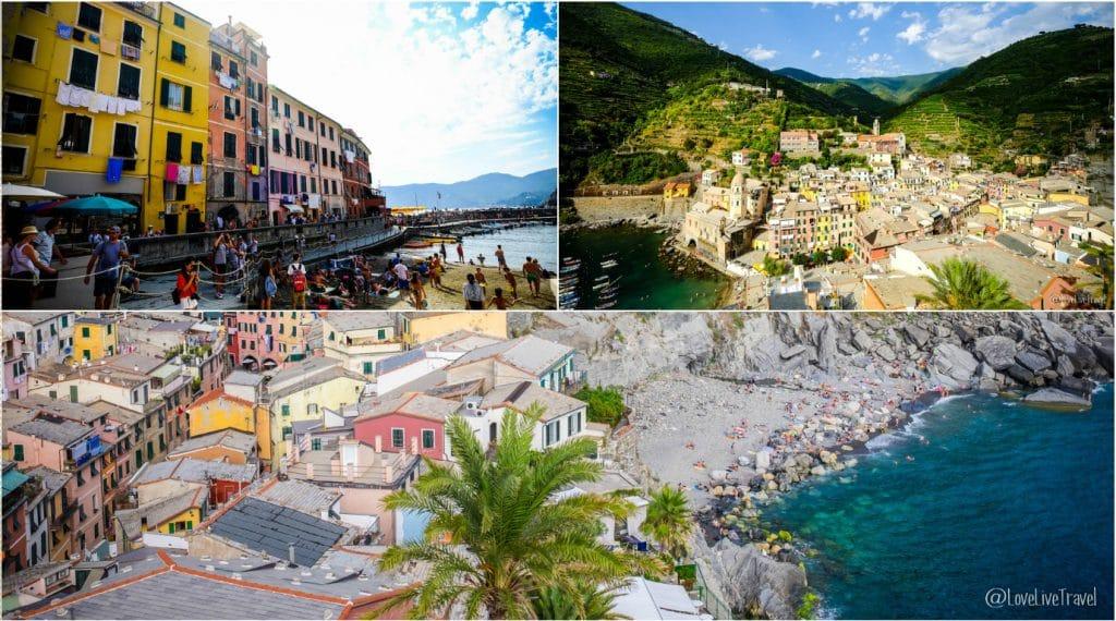 Vernazza Cinque terre gira cinq terres Italie blog voyage LoveLiveT