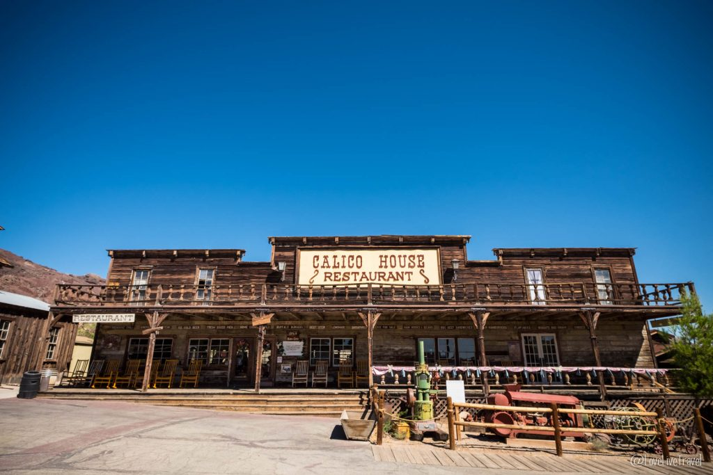Road trip USA route 66 calico blog voyage lovelivetravel