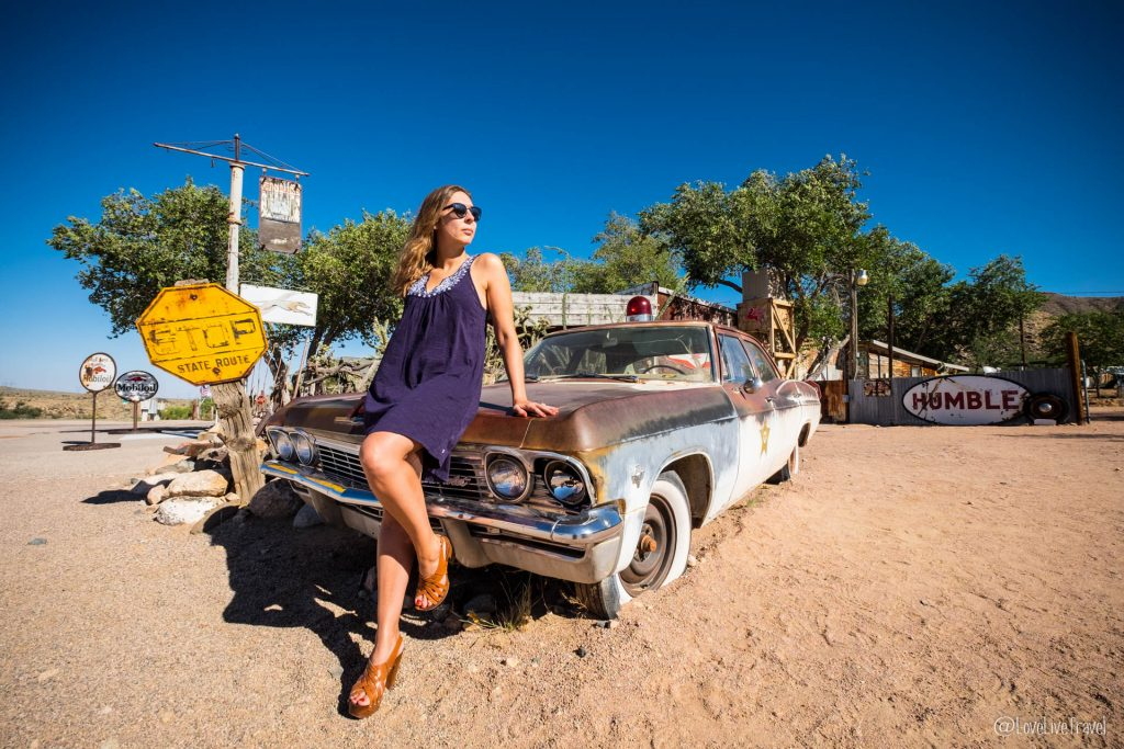 Road trip hackberry USA route 66 blog voyage lovelivetravel