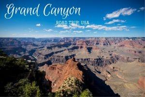 Grand Canyon hermit's rest roadtrip usa blog voyage Lovelivetravel
