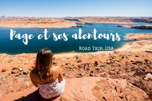 Page lake Powell horse shoe bend road trip usa blog voyage lovelivetravel