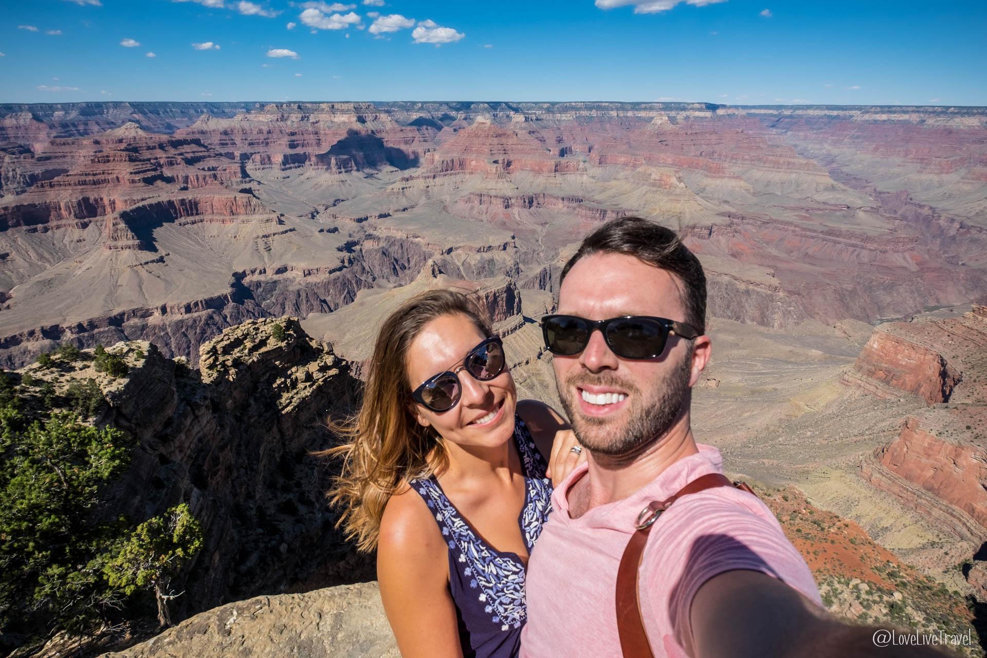 Grand Canyon : sur la route historique d'Hermit's Rest