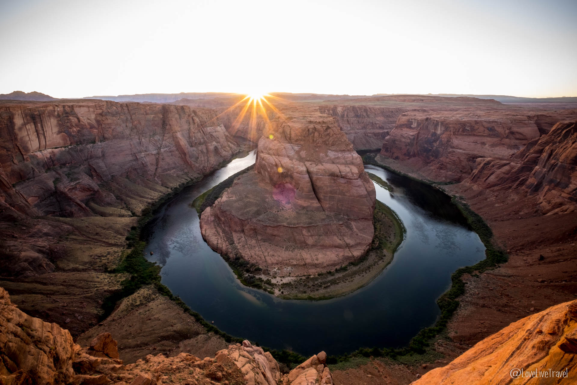 Lake Powell, Page et Horseshoe Bend