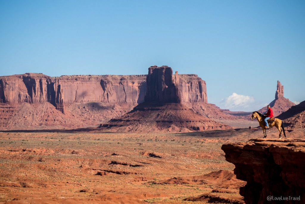 Monument Valley John Ford point Road trip USA blog voyage LoveLiveTravel