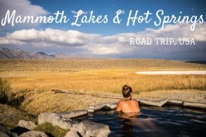 Mammoth Lakes Californie road trip usa blog voyage lovelivetravel