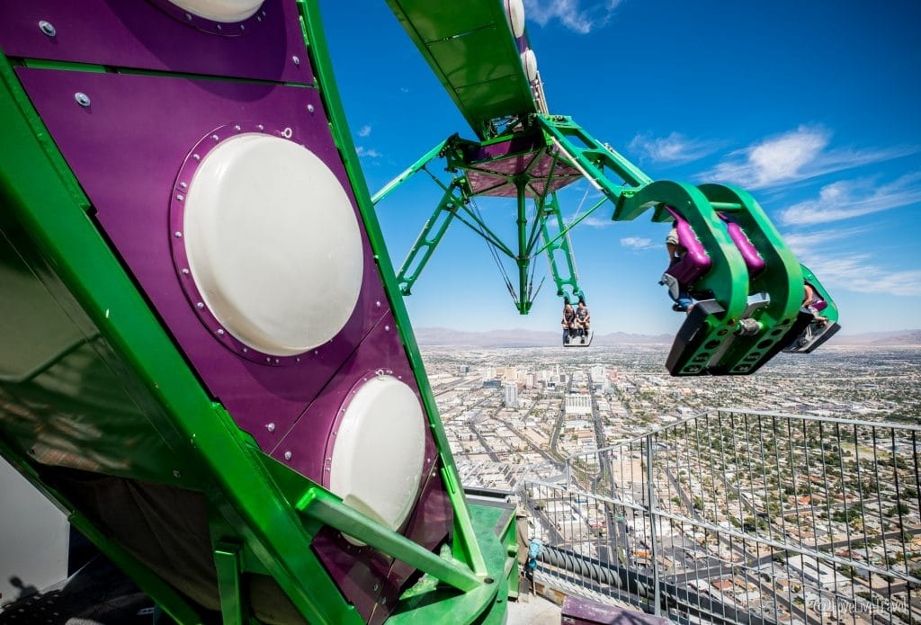 Las Vegas stratosphere Nevada Road trip USA blog voyage LoveLiveTravel