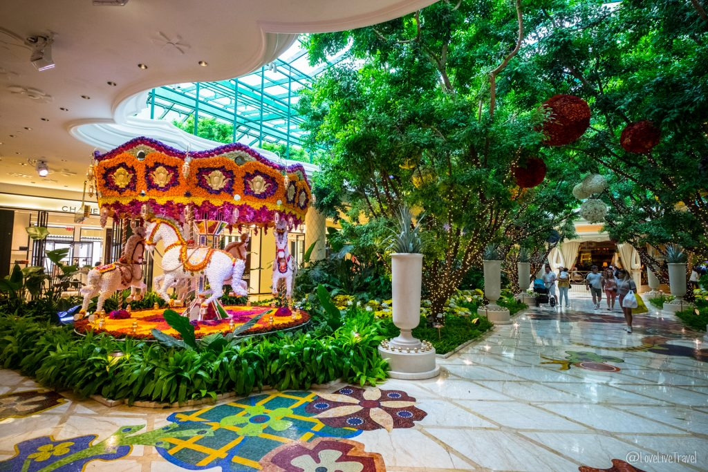 Las Vegas wynn panneau Nevada Road trip USA blog voyage LoveLiveTravel