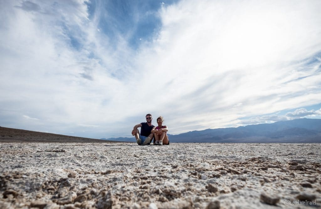 Badwater Death Valley Californie nevada road trip usa blog voyage lovelivetravel