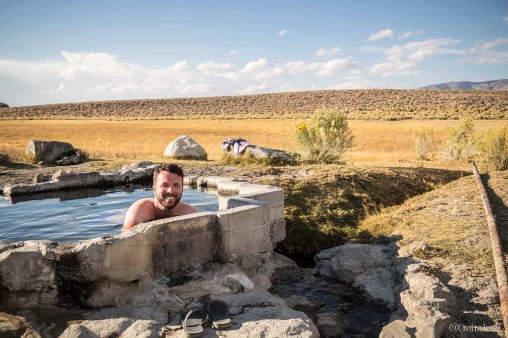 Mammoth lakes hot creek sources eau chaude californie road trip usa blog voyage lovelivetravel